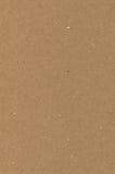 Het verpakken document bruine kartontextuur, natuurlijke ruwe geweven exemplaar ruimteachtergrond, donkere tan, geel, beige, vert Stock Afbeelding