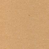 Het verpakken document bruine kartontextuur, natuurlijke ruwe geweven exemplaar ruimteachtergrond, lichte beige tan, geel, Royalty-vrije Stock Afbeeldingen