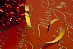 Het Verpakken van Kerstmis Royalty-vrije Stock Fotografie