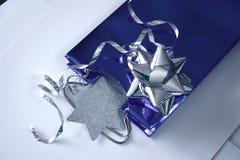 Het verpakkingsmateriaal van de gift Stock Afbeeldingen