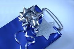 Het verpakkingsmateriaal van de gift Stock Foto