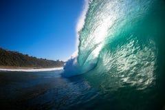 Het verpletteren het Holle Beeld van de Foto van het Water van de lip van de Golf Royalty-vrije Stock Afbeelding