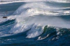 Het Verpletteren van golven Royalty-vrije Stock Foto