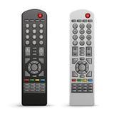 Het verre controlemechanisme van TV Stock Afbeeldingen