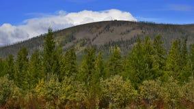 Het verre Noorden Y-berg Royalty-vrije Stock Foto's