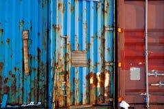 Het verschepen de Textuur van de Container Royalty-vrije Stock Afbeelding
