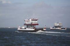 Het verschepen en handelstraffice bij de Haven van de ingang van Galveston Texas aan de Golf van Mexico royalty-vrije stock foto's
