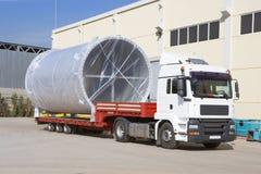 Het verschepen, luchtkoelingskanaal op vrachtwagen Royalty-vrije Stock Foto