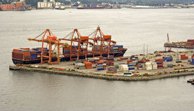 Het verschepen van de container Stock Fotografie