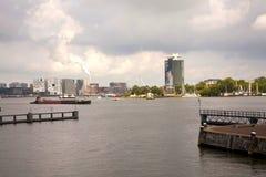 Het Verschepende Kanaal van Amsterdam Royalty-vrije Stock Afbeeldingen