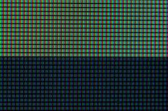 Het verschil tussen wit en zwart op de monitor vector illustratie