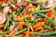 Het verse bevroren voedsel van groenteneco, natur Stock Afbeelding