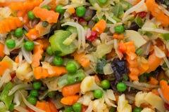 Het verse bevroren voedsel van groenteneco, natur Stock Foto