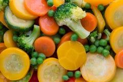 Het verse bevroren voedsel van groenteneco, natur Stock Afbeeldingen