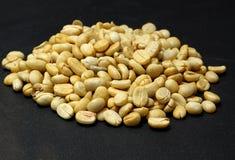 Het verse braadstuk van koffiebonen niet Stock Fotografie
