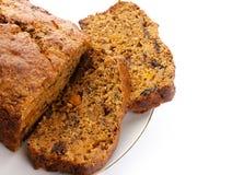 Het verse brood van de Gember en van het fruit Stock Foto's