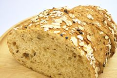Het verse brood van plakbaguette Stock Fotografie