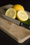 Het verse fruit van de citroen Royalty-vrije Stock Foto's
