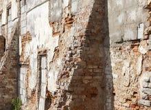Het versterken van de muren van het gebouw royalty-vrije stock foto's