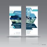 Het verticale ontwerp van het bannermalplaatje Stock Afbeeldingen