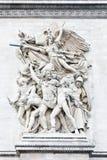 Het vertrek van 1792 (La Marseillaise) royalty-vrije stock foto's