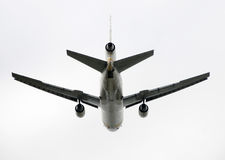 Het vertrekken van de jet royalty-vrije stock afbeelding