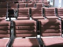 De zitkamer scene4 van het luchthavenvertrek Stock Foto