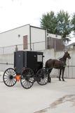 Het vervoer van Amish stock fotografie