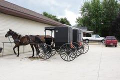Het vervoer van Amish Royalty-vrije Stock Afbeelding