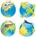Het vervoer van de aarde Stock Afbeelding