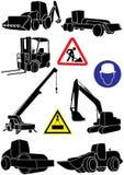 Het vervoer van de bouw Royalty-vrije Stock Afbeeldingen