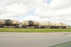 Het vervoer van de brandstof stock afbeelding