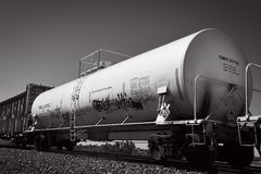 Het Vervoer van de spoorgoederentrein royalty-vrije stock fotografie