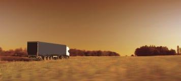 Het vervoer van de vrachtwagen royalty-vrije stock foto