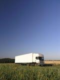 Het vervoer van de vrachtwagen stock foto