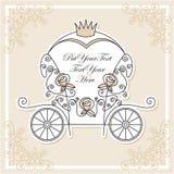 Het vervoer van het huwelijk Stock Afbeeldingen