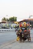 Het Vervoer van het toeristenpaard Stock Afbeeldingen