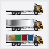 Het Vervoer van ladingsvrachtwagens Stock Fotografie
