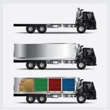 Het Vervoer van ladingsvrachtwagens Stock Afbeeldingen