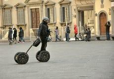 Het vervoer van Segway in Italië Royalty-vrije Stock Foto