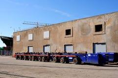 Het vervoeren van de vrachtwagen Royalty-vrije Stock Foto