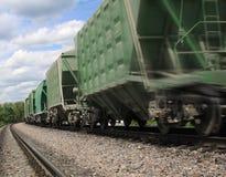 Het vervoerlogistiek van de lading Stock Afbeeldingen