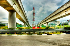 Het vervoersbruggen van de massa Royalty-vrije Stock Foto's