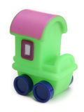 Het vervoerstuk speelgoed van de wagen Stock Foto