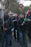 Het verzamelen van protesteerders 1 Royalty-vrije Stock Foto's