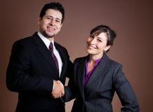 Het verzegelen van de overeenkomst Royalty-vrije Stock Foto's