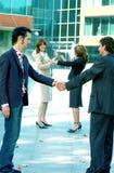Het verzegelen van de Overeenkomst Royalty-vrije Stock Afbeelding
