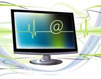 Het verzenden van of het ontvangen van e-mail Stock Foto's