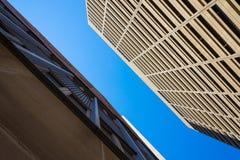 Het verzetten zich gebouwen Royalty-vrije Stock Foto's