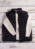 Het vest van mensen met een warme gebreide sweater Royalty-vrije Stock Foto's